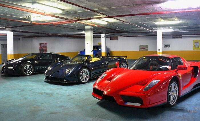 Blog-17-Chocheras-de-famosos-bugatti veyron-ferrari-pagani zonda