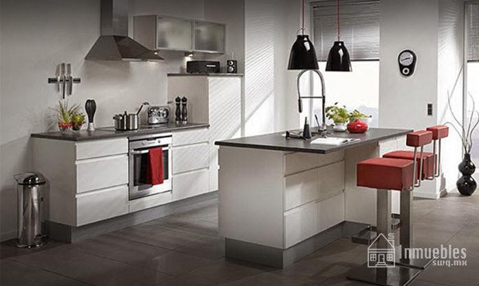 Disenos de cocinas great ideas de diseo de cocinas for Barras de cocina modernas