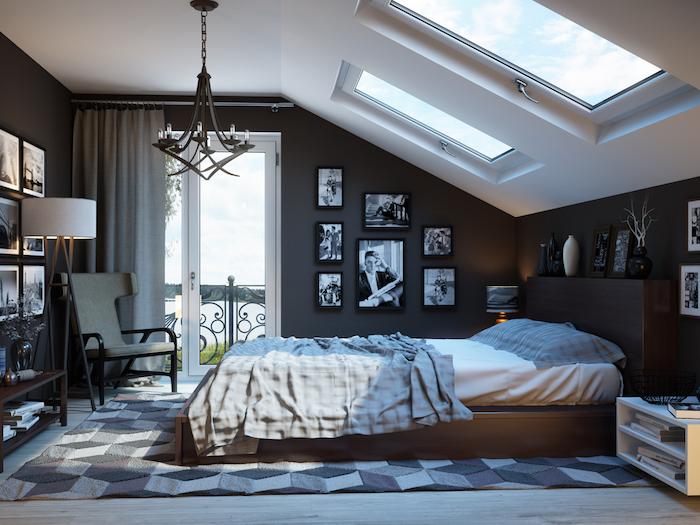 blog-8-Decoración-de-dormitorio-con-techo-inclinado-Diseñadora