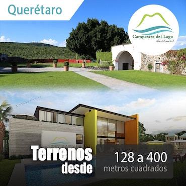 Terrenos Campestre del lago Querétaro