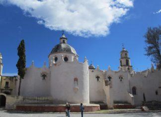 Santuario De Jesús Nazareno de Atotonilco en San Miguel de Allende