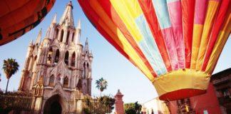 Tour en globo en San Miguel de Allende