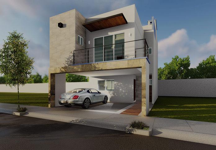 Casa en Residencial Orion Fachada