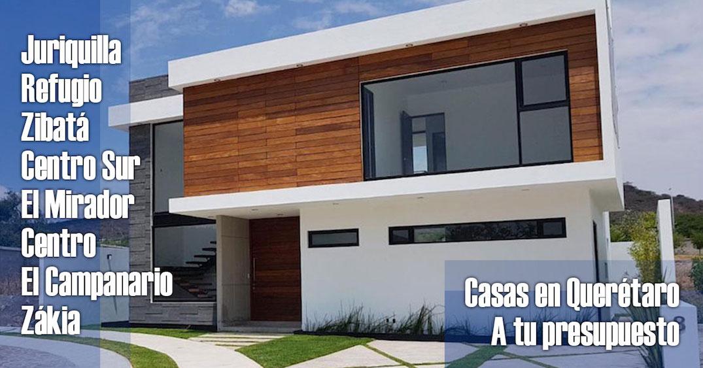 Casas en venta por zonas