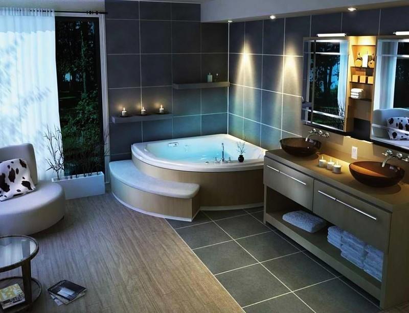 baños de lujo jacuzzi