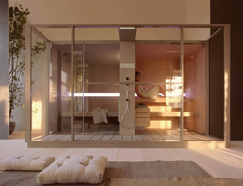 baños de lujo sauna