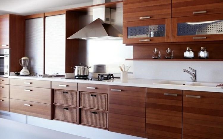 cocina integral madera laminada