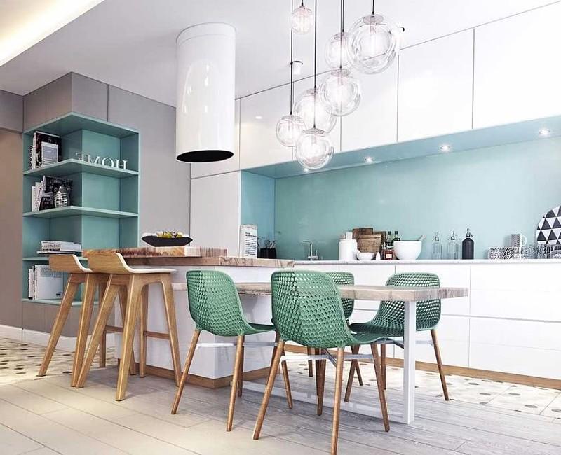 cocina moderna colores