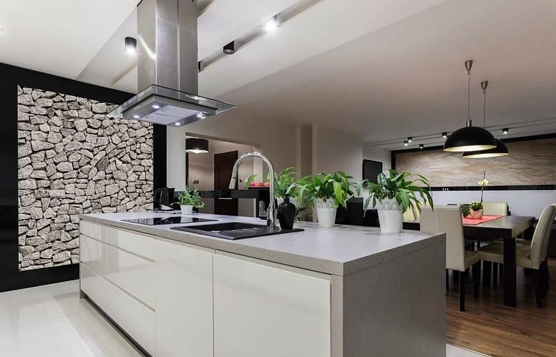 cocina moderna en cuarzo
