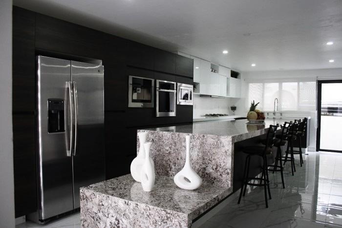 cocina moderna en granito