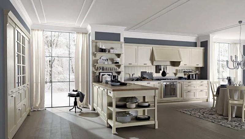 cocina moderna vintage