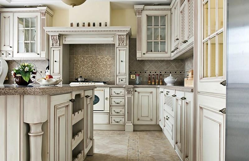 cocinas de madera vintage