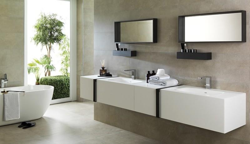 baños de lujo distribución lavabo