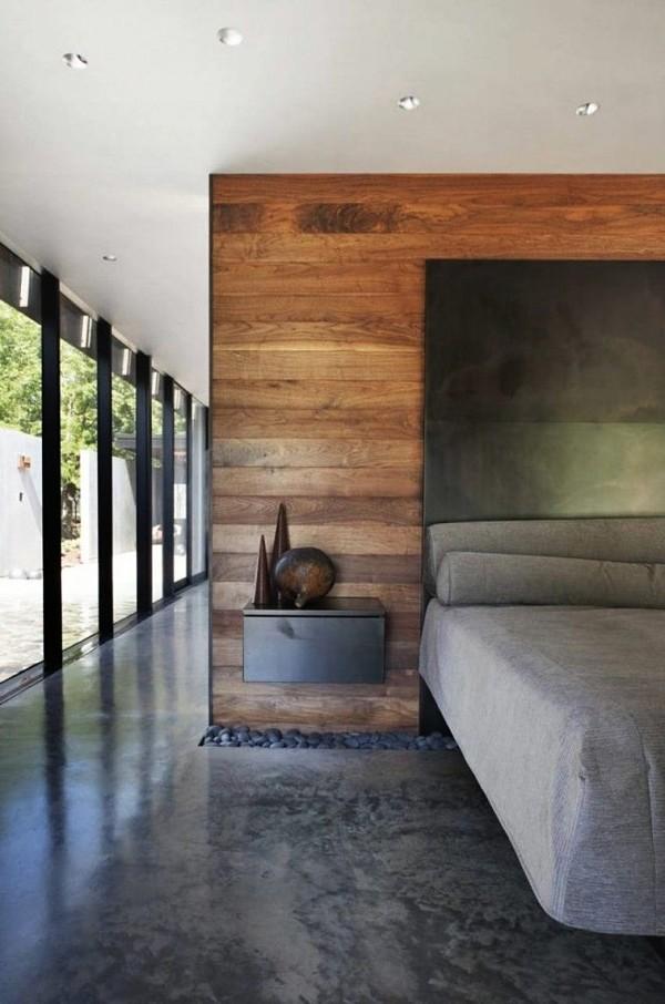 recemaras modernas piso de cemento
